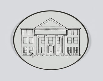 University of Texas - Kappa Kappa Gamma Sorority House Sticker