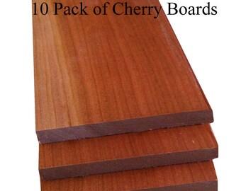 """Thin Cherry lumber 1/4"""" Thick Handypack"""