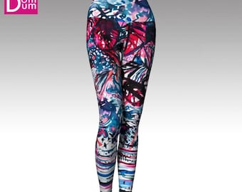 Yoga Leggings, Ethnic Chic