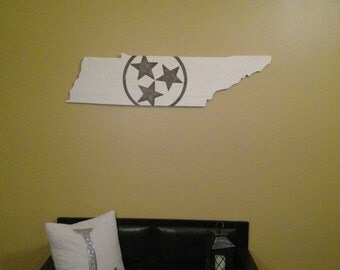 White Board Tennessee Sign
