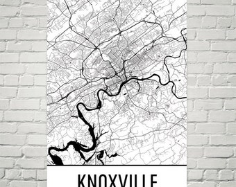 Worksheet. Knoxville map  Etsy
