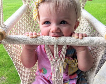 Macrame Swing  baby Chair
