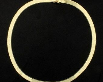 14 Inch Herring Bone Necklace