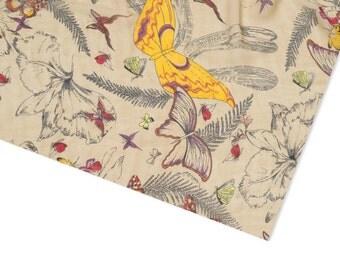 Infinity scarf, tube scarf, snood, loop scarf, butterfly print scarf, women's tube scarf, ladies butterfly scarf, graphic scarf, butterfly