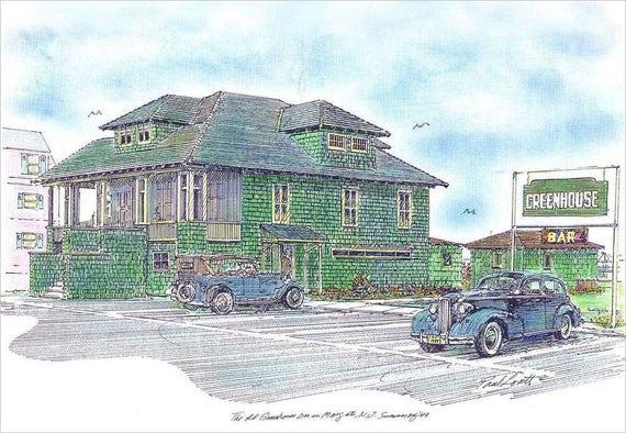 Old Greenhouse Bar 1943