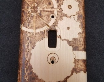 Custom LightSwitch Plate
