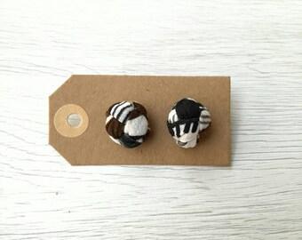 Africa Knot Earrings   Africa earrings   Knot Earrings