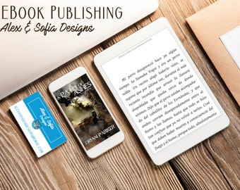 E-Book Publishing Package (with book cover design)