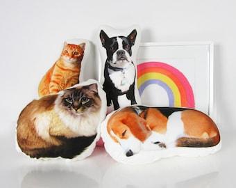 PET MEMORIAL PILLOW, Loved pet pillow, pet memory, pet memorial gift, pet loss, rainbow bridge, dog memorial, cat memorial, custom photo pet