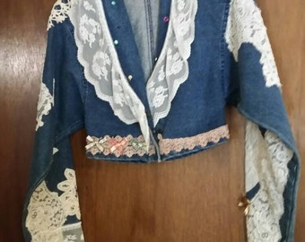 Vintage Jean jacket size small