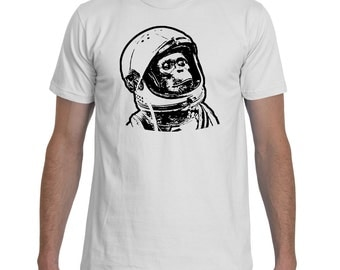 Chimponaut Black White TShirt Men