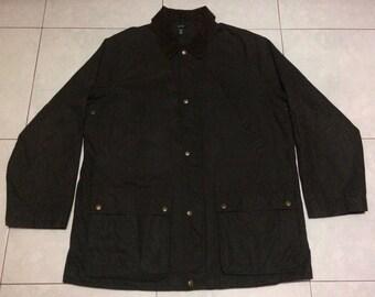 J Crew Dark Brown Parka Style Jacket