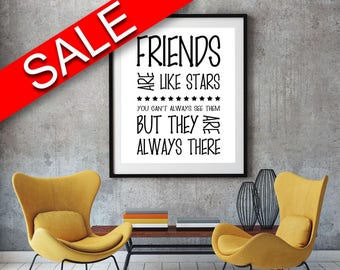 Wall Art Friends Digital Print Friends Poster Art Friends Wall Art Print Friends Home Art Friends Home Print Friends Wall Decor Friends