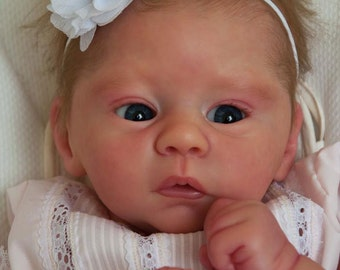 Beautiful Custom Reborn  * Harlow * By Laura Tuzio Ross Comes with COA