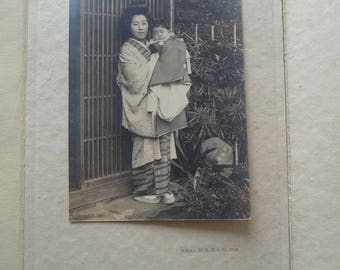 Japanese family portrait pictures from the roaring twenties