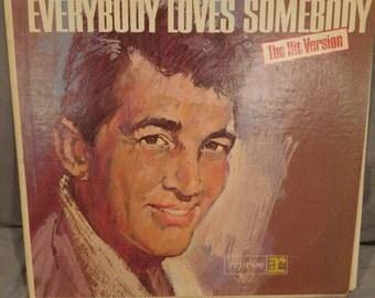 "Dean Martin- Everybody Loves Somebody 12"" LP"