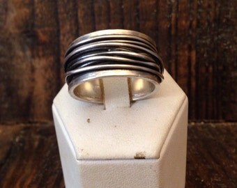 Ring Silver 925 and thread