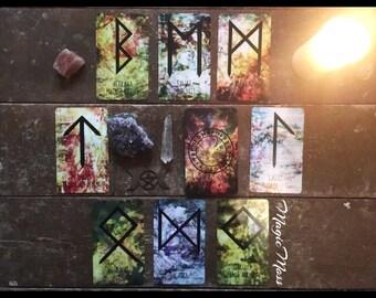 WITCHYWILDRUNES - Runenkarten / Oracle Cards / Runenorakel / Futhark/ Witch / Wicca / Divination / Tarot / Orakel/ Freespirit / Art / Runen