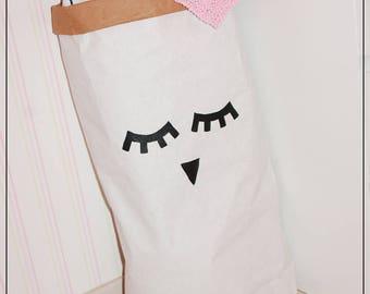 """Paperbag paper bag """"Sleppy Owl"""""""