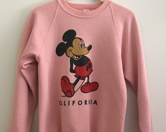 Vintage Disney Mickey sweater pink sz. S (W)