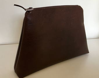 Leatherette Toiletry Pouch