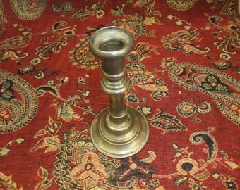 Brass cast candle holder