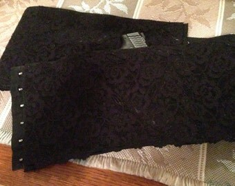 Women's  Holster - Black Lace Concealed Carry Option