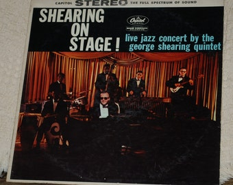 Shearing on stage in stereo
