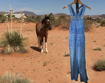 Vintage Gap Overalls, Vintage Womens Overalls, Farm Overalls, Ranch Wear, Cowgirl Wear, Gap, Small to Medium