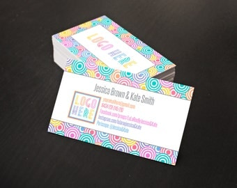 Business Card,  Approved Fonts & Colors, Card for Fashion Consultant,  1-2 business days personalisation, Instant Download