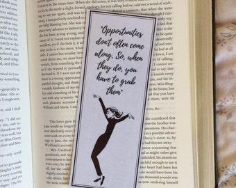 Audrey Hepburn Quote Bookmark