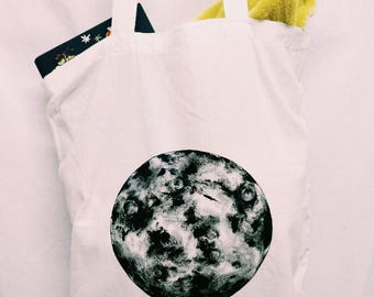 """The Moon"" Totebag"