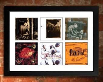PIXIES Albums Limited Edition Unframed Art Print Doolittle, Surfer Rosa etc