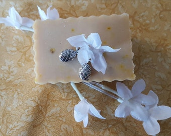 Jasmine & Pineapple Goat's Milk Soap