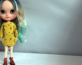 Fancy sweater for Blythe doll