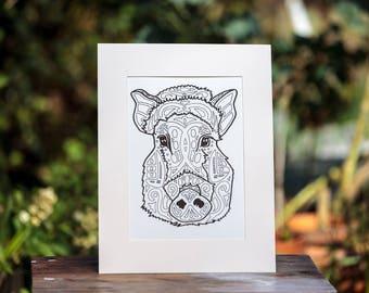 Boar Custom Print