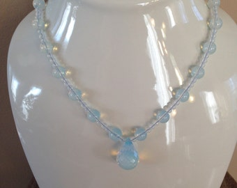 Genuine Opalite Jewelry Set