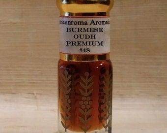 Burmese Oudh Agarwood Oil - Premium #48 - Woody/ Sweet/ Pure - A must try!