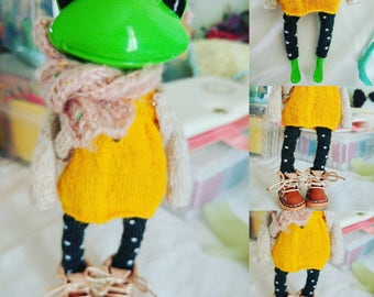 Wonder Frog -doll clothes