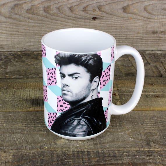 George Michael 80s Mug