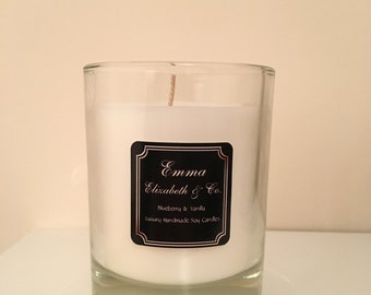 30 cl Clear Glass Candle - NO Lid