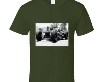 Military Rat Rod Jeep Tshirt