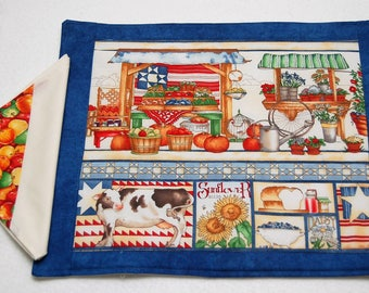 Country Fair Placemats and Napkins, Set of 2