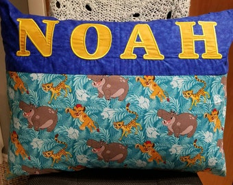 Personalized Pillowcase With Embroidered Name