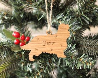 Personalised Cavalier King Charles Spaniel Decoration, Cavalier King Charles Spaniel Christmas Decoration, Christmas Dog Decoration, Spaniel