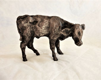 Calf in Bronze Resin