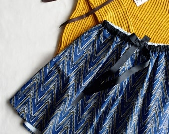 Free size Midi Skirt,Pièce Unique, Bohemian Skirt, African print Skirt, Flared Skirt, Unique Skirts, Cotton skirt, Jupe imprimée