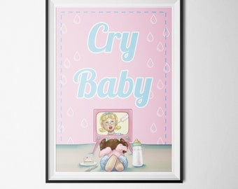 Melanie Martinez - Cry Baby Poster (PRINTABLE) - Instant Download - DIY