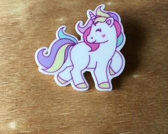 Unicorn Badge/Brooch