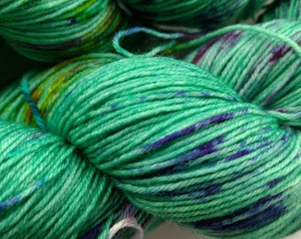 Spring in the Parks: 4-ply superwash sock